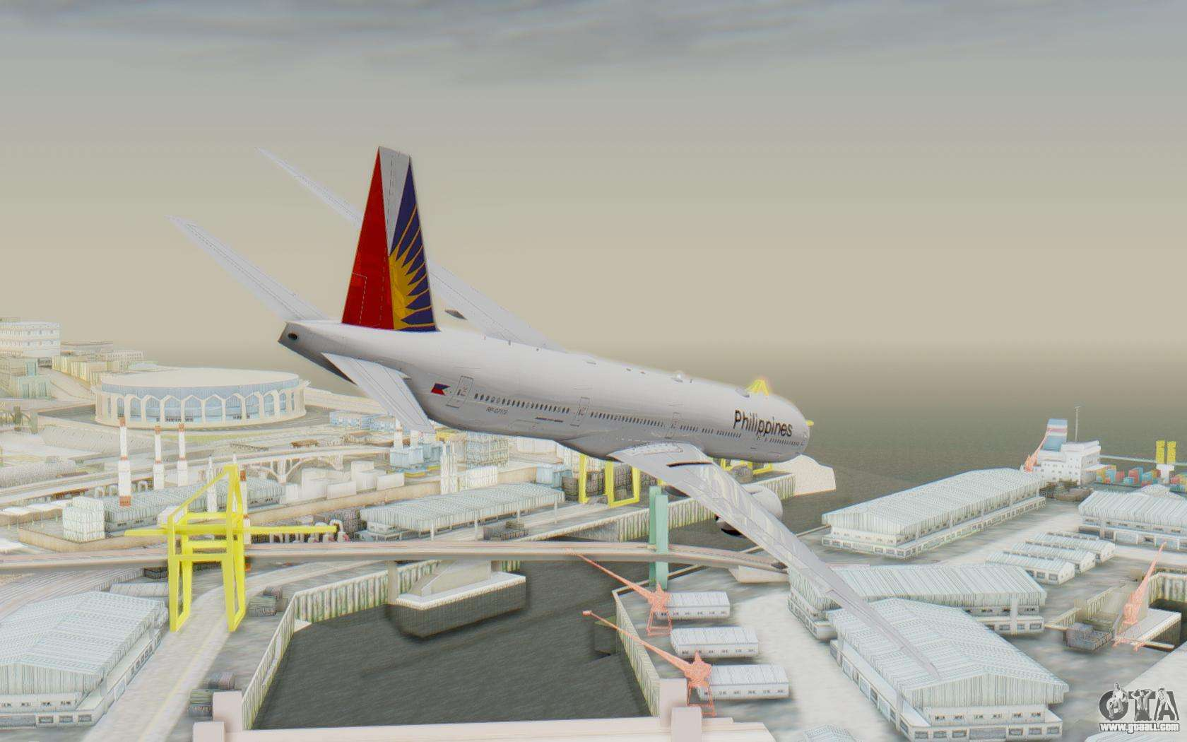 Boeing 777-300ER Philippine Airlines for GTA San Andreas