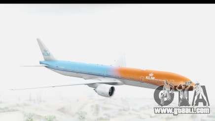 Boeing 777-300ER KLM Orange Pride for GTA San Andreas