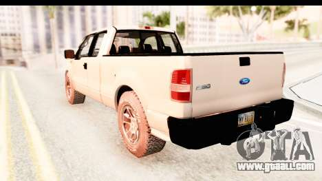 Ford F-150 4x4 2008 for GTA San Andreas right view
