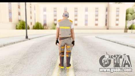COD AW - John Malkovich Janitor for GTA San Andreas third screenshot