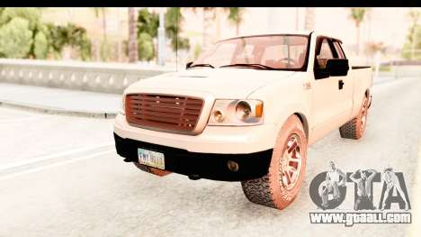 Ford F-150 4x4 2008 for GTA San Andreas