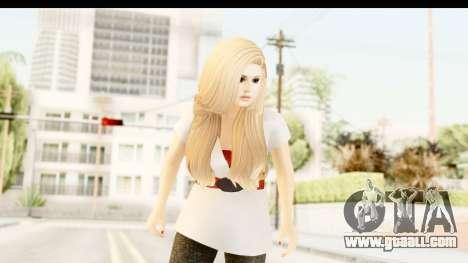 Adele for GTA San Andreas