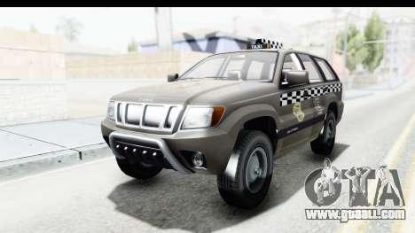 GTA 5 Canis Seminole Taxi Saints Row 4 Retro for GTA San Andreas back left view