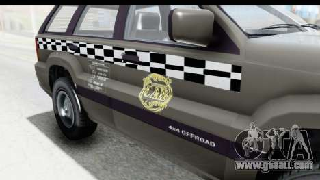 GTA 5 Canis Seminole Taxi Saints Row 4 Retro for GTA San Andreas inner view
