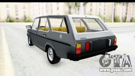 Fiat 131 Panorama for GTA San Andreas back left view