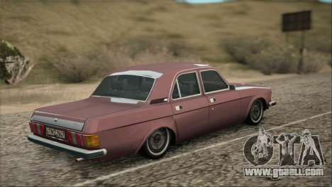 GAZ 3102 early for GTA San Andreas left view