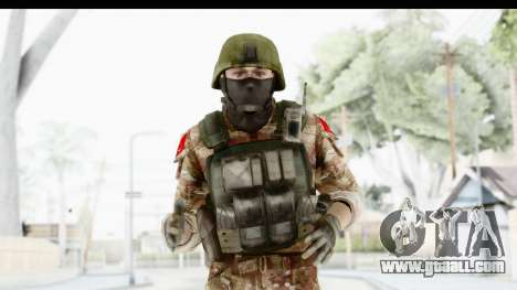 Global Warfare Turkey for GTA San Andreas