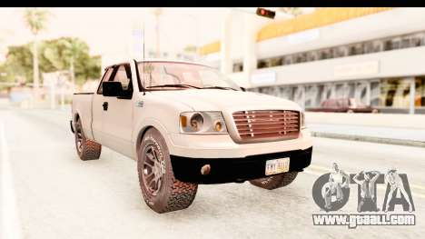 Ford F-150 4x4 2008 for GTA San Andreas back left view