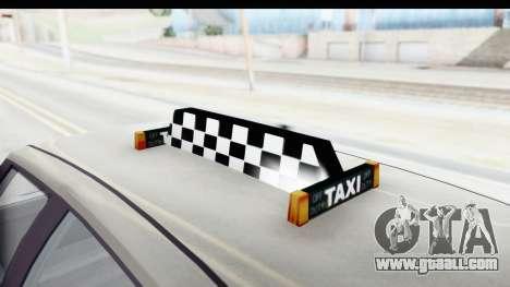 GTA 5 Canis Seminole Taxi Saints Row 4 Retro for GTA San Andreas side view