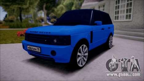 Land Rover Range Rover III (Pontorezka) for GTA San Andreas