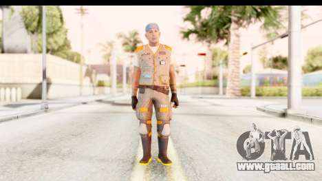 COD AW - John Malkovich Janitor for GTA San Andreas second screenshot