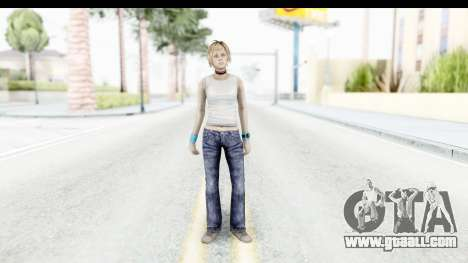 Silent Hill 3 - Heather Sporty White Base for GTA San Andreas second screenshot