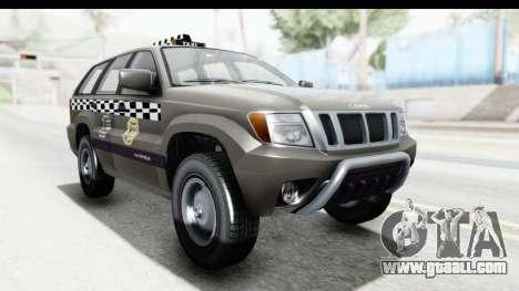 GTA 5 Canis Seminole Taxi Saints Row 4 Retro for GTA San Andreas