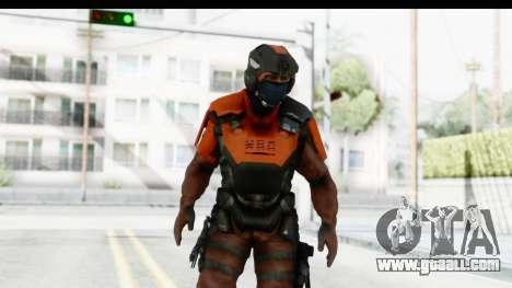 Homefront The Revolution - KPA v4 Red for GTA San Andreas