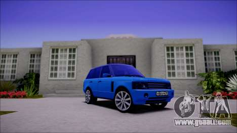 Land Rover Range Rover III (Pontorezka) for GTA San Andreas left view