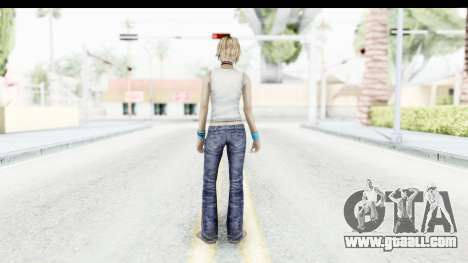 Silent Hill 3 - Heather Sporty White Base for GTA San Andreas third screenshot