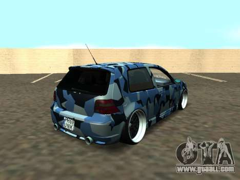 Volkswagen Golf MK4 R32 Stance for GTA San Andreas side view