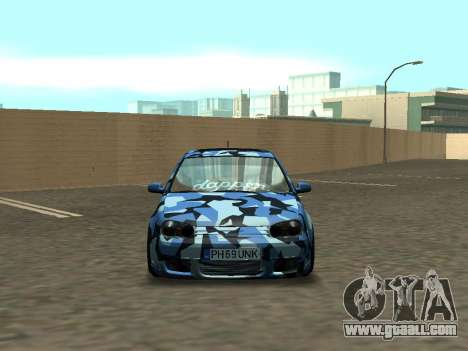 Volkswagen Golf MK4 R32 Stance for GTA San Andreas back view
