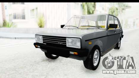 Fiat 131 Panorama for GTA San Andreas right view