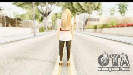 Adele for GTA San Andreas third screenshot