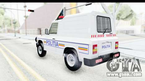Aro 243 1996 Police for GTA San Andreas left view