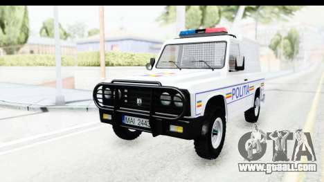 Aro 243 1996 Police for GTA San Andreas back left view