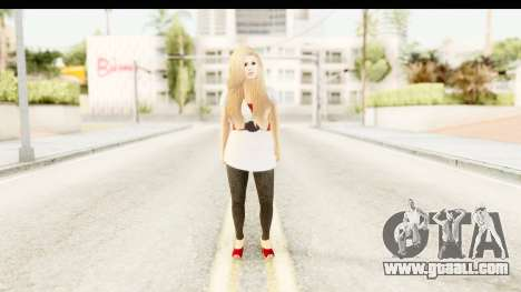Adele for GTA San Andreas second screenshot
