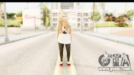 Adele for GTA San Andreas second screenshot