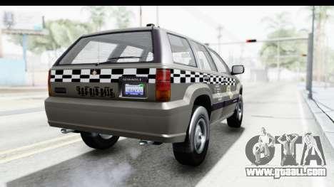GTA 5 Canis Seminole Taxi Saints Row 4 Retro for GTA San Andreas right view