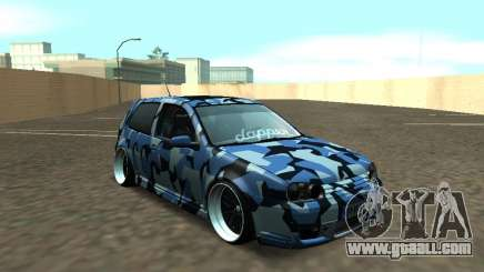 Volkswagen Golf MK4 R32 Stance for GTA San Andreas