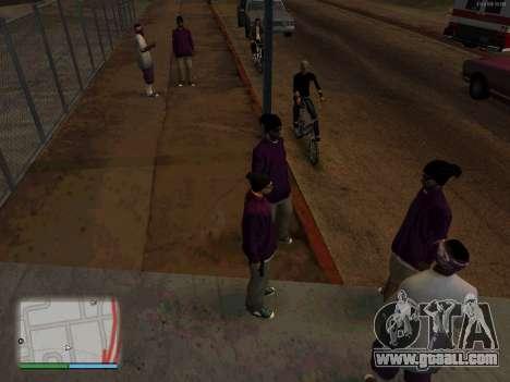White CJ v3 Improved for GTA San Andreas second screenshot