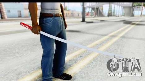 Katana from GTA Advance for GTA San Andreas