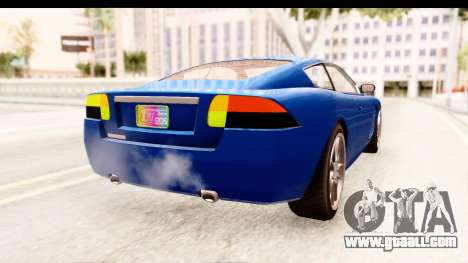 GTA EFLC TBoGT F620 v2 for GTA San Andreas left view
