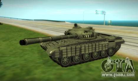 T-72 Modified for GTA San Andreas left view