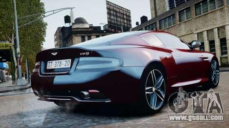 Aston Martin DB9 2013 for GTA 4 right view