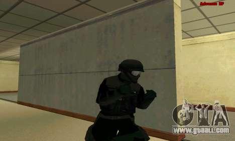 Skin FIB SWAT from GTA 5 for GTA San Andreas ninth screenshot
