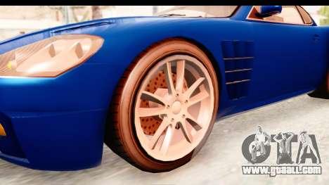 GTA EFLC TBoGT F620 v2 for GTA San Andreas back view