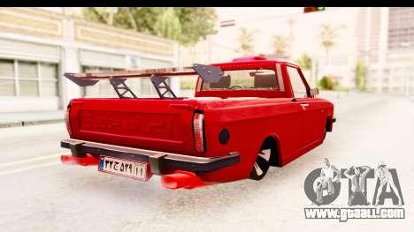 Peykan Pickup Full Sport Iranian for GTA San Andreas right view