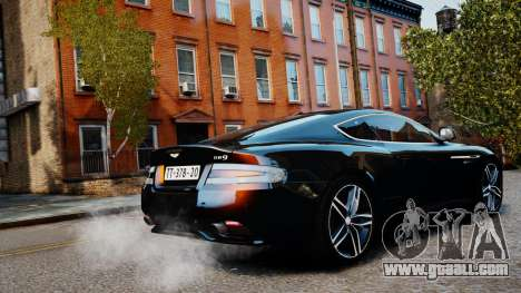 Aston Martin DB9 2013 for GTA 4 left view
