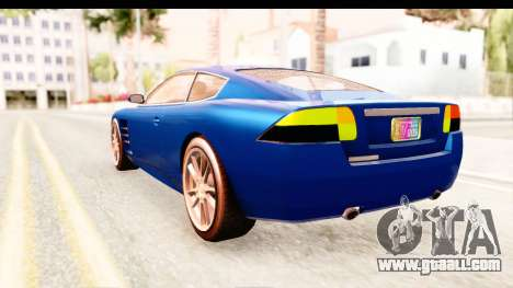 GTA EFLC TBoGT F620 v2 for GTA San Andreas right view