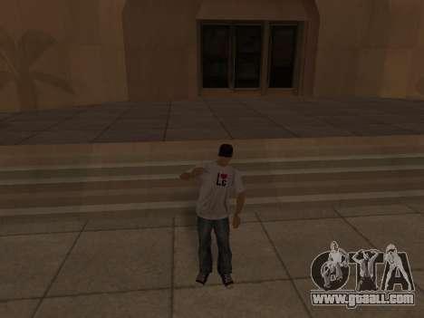 White CJ v3 Improved for GTA San Andreas ninth screenshot