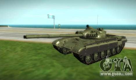T-72 Modified for GTA San Andreas right view