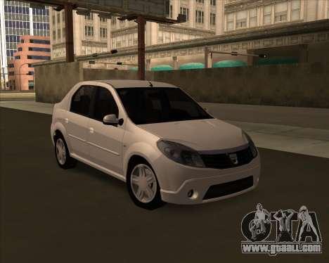 Dacia Logan Londero Misterios Urechiata for GTA San Andreas