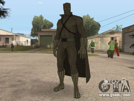 Marvel: Ultimate Alliance 2 - Black Phanter for GTA San Andreas
