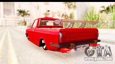 Peykan Pickup Full Sport Iranian for GTA San Andreas left view