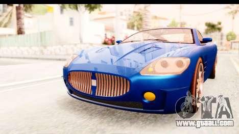 GTA EFLC TBoGT F620 v2 for GTA San Andreas