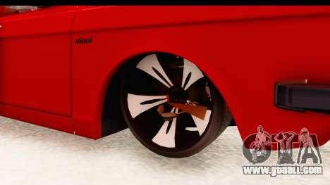 Peykan Pickup Full Sport Iranian for GTA San Andreas back view