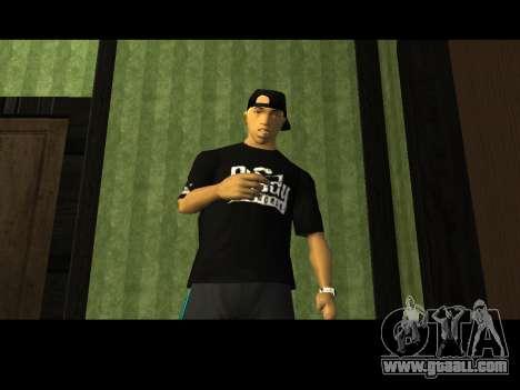 White CJ v3 Improved for GTA San Andreas fifth screenshot
