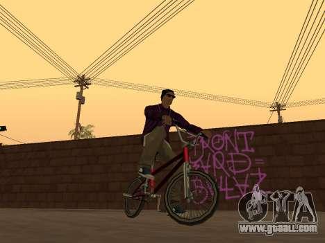 White CJ v3 Improved for GTA San Andreas third screenshot