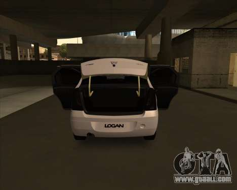 Dacia Logan Londero Misterios Urechiata for GTA San Andreas right view